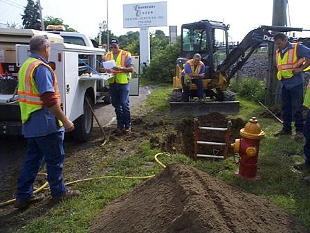 Water Line Maintenance