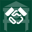 handshake dark green
