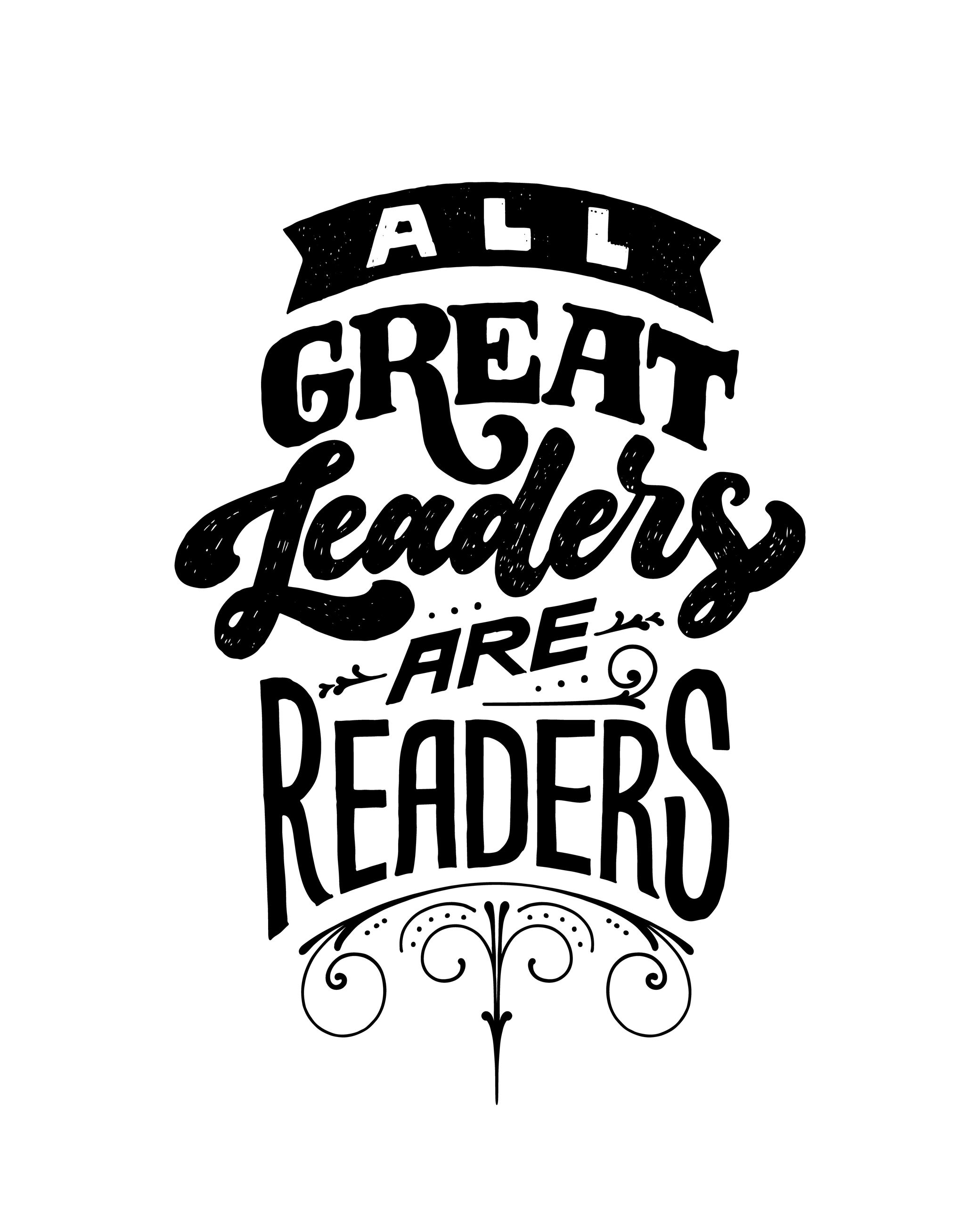 great leaders are great readers